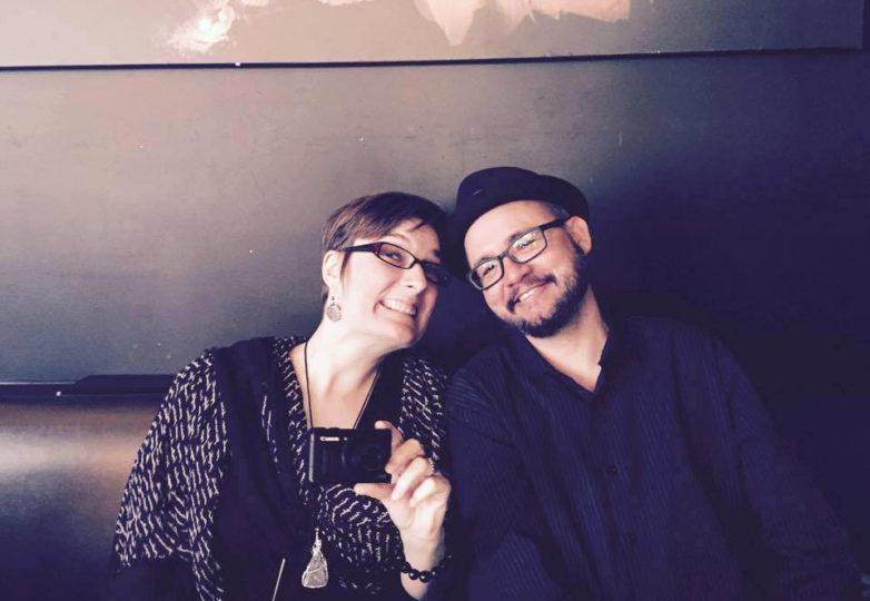 Drago Rentería and his partner, Jennifer Mantle. Photo: Jessalyn Akerman-Frank