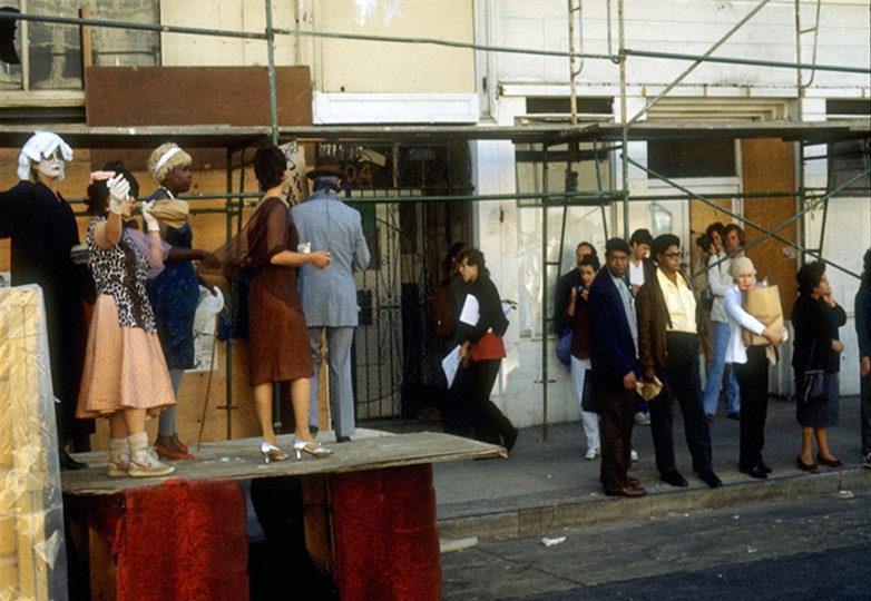 Las Ratas Urbanas manifestándose en contra del reverendo Floyd, en las calles 16 y Valencia, el 20 de junio de 1983. Foto: Susan Greene