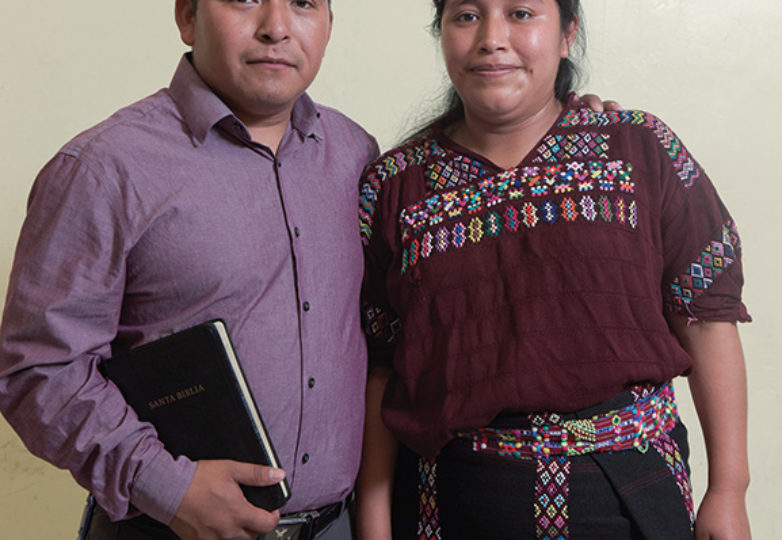 Juan Garcia (left) and America Lopez pose for a portrait. Photo: Mark Jason Quines