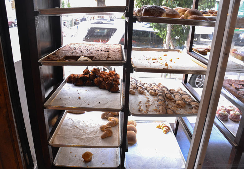 Near empty trays during the last day of business at La Victoria Bakery was on Tuesday Oct. 9, 2018. Located on 24th and Alabama streets, La Victoria closed its doors after 67 of operating in San Francisco's Mission District. Photo: Mabel Jiménez