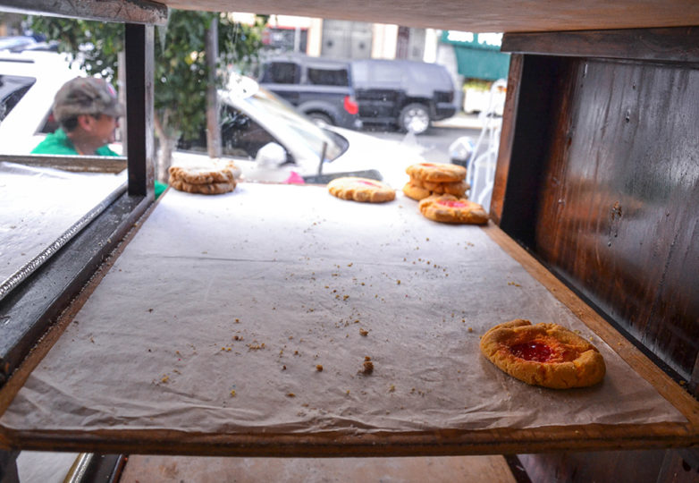 Near empty trays during the last day of business at La Victoria Bakery was on Tuesday October 9, 2018. Located on 24th and Alabama streets, La Victoria closed its doors after 67 of operating in San Francisco's Mission District. Photo: Mabel Jiménez