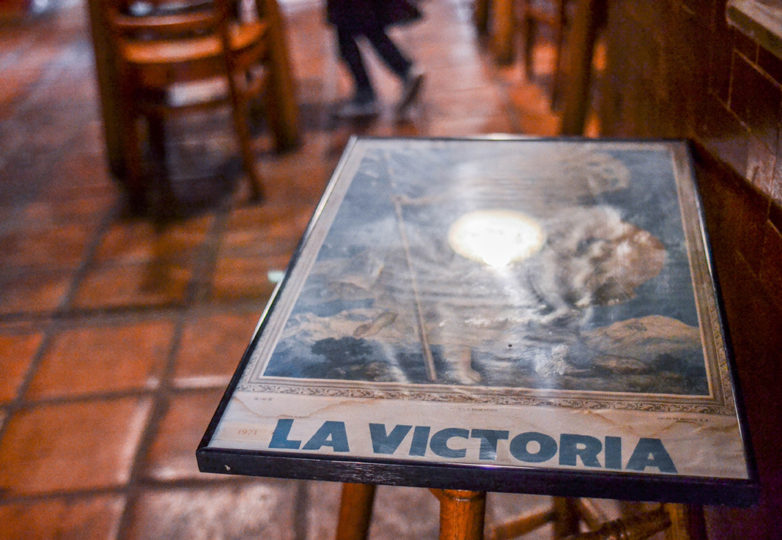 Frames were taken off the walls during the last day of business at La Victoria Bakery was on Tuesday Oct. 9, 2018. Located on 24th and Alabama streets, La Victoria closed its doors after 67 of operating in San Francisco's Mission District. Photo: Mabel Jiménez