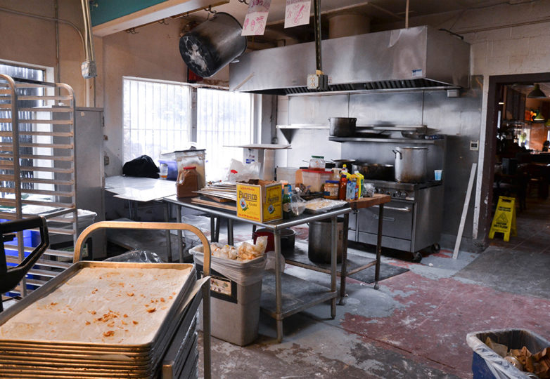 The back kitchen of La Victoria Bakery during its last day of business on Tuesday Oct. 9, 2018. Located on 24th and Alabama streets, La Victoria closed its doors after 67 of operating in San Francisco's Mission District. Photo: Mabel Jiménez