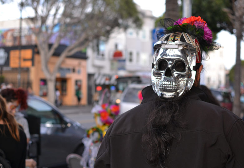 Día de Muertos in San Francisco's Mission district, Friday November 2, 2018. Photo: Mabel Jiménez/Calle 24