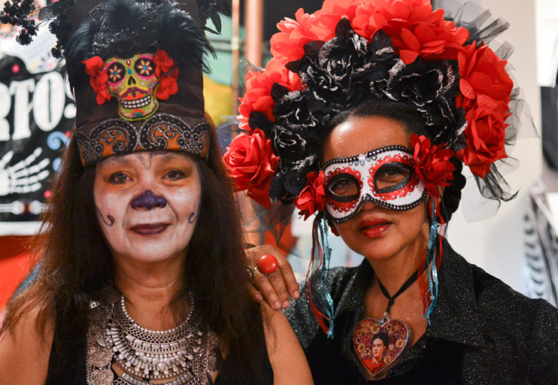 Dia de Muertos celebrations at the Mission Cultural Center for Latino Arts in San Francisco's Mission district, Friday November 2, 2018. Photo: Mabel Jiménez/Calle 24