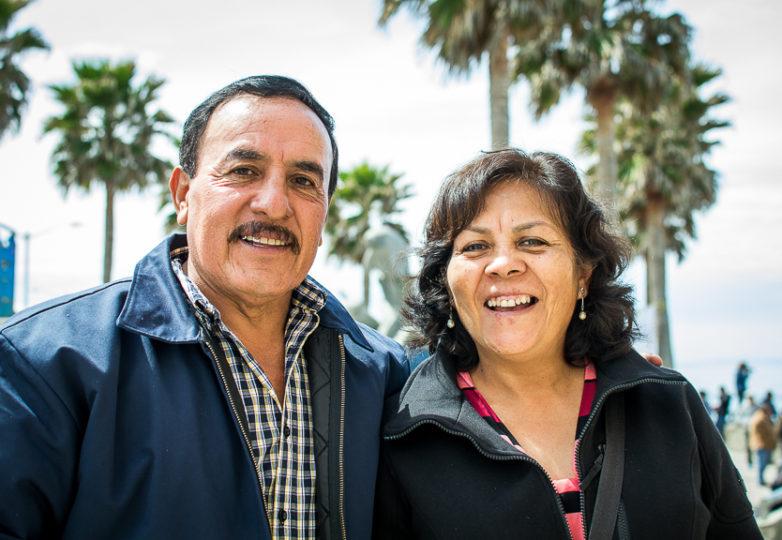 Braulio Mayer y Juana Castillo. Foto: Mabel Jiménez