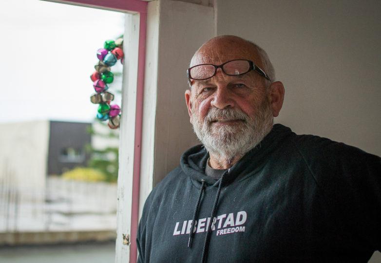 David Klages en Casa de Luz. Foto: Mabel Jiménez