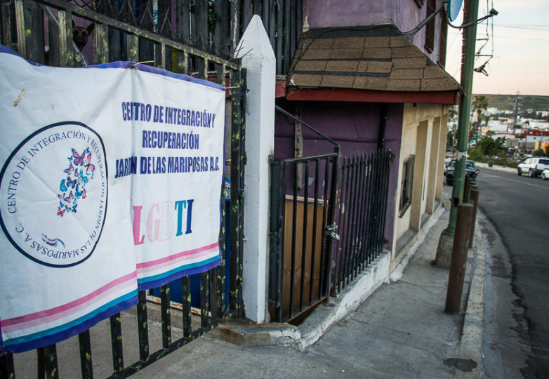 Jardín de las Mariposas, un centro de rehabilitación para la comunidad LGBT. Foto: Mabel Jiménez